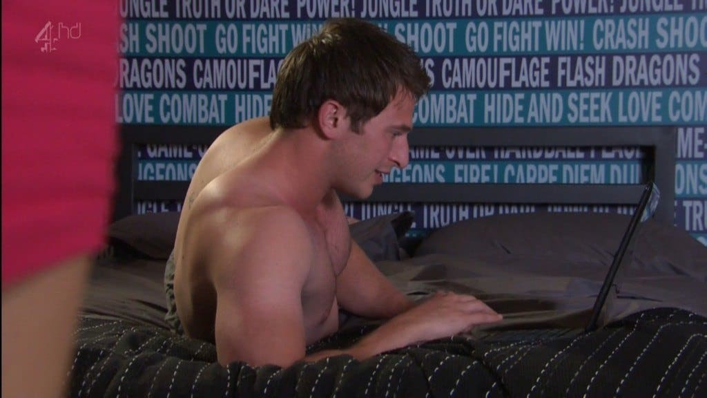 Rob Norbury Shirtless In Hollyoaks image