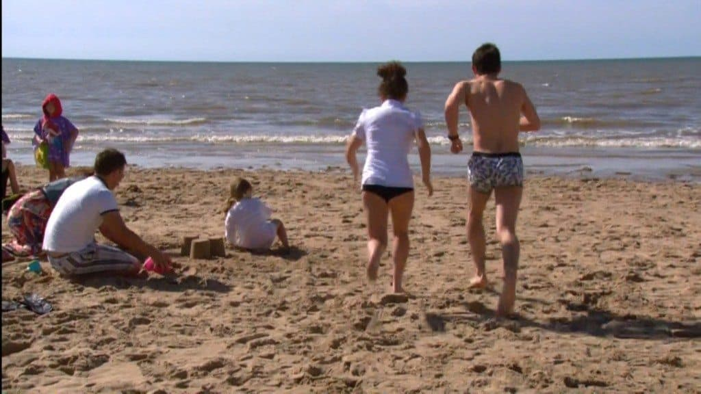 Jack McMullen In Just Boxers On Waterloo Road image