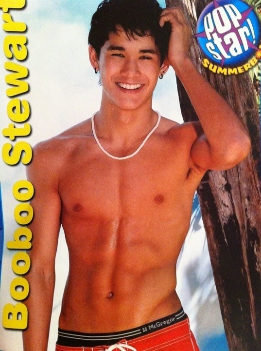 Boo Boo Stewart Shirtless in Magazine image