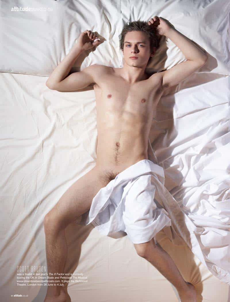 Scott Bruton Naked In Attitude
