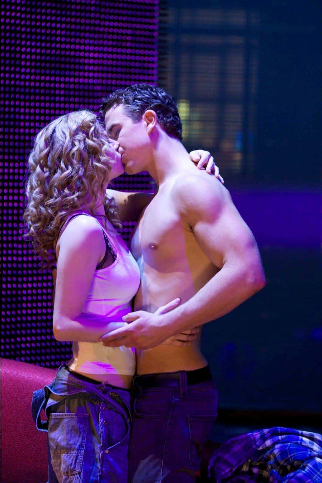 Shirtless Richard Fleeshman