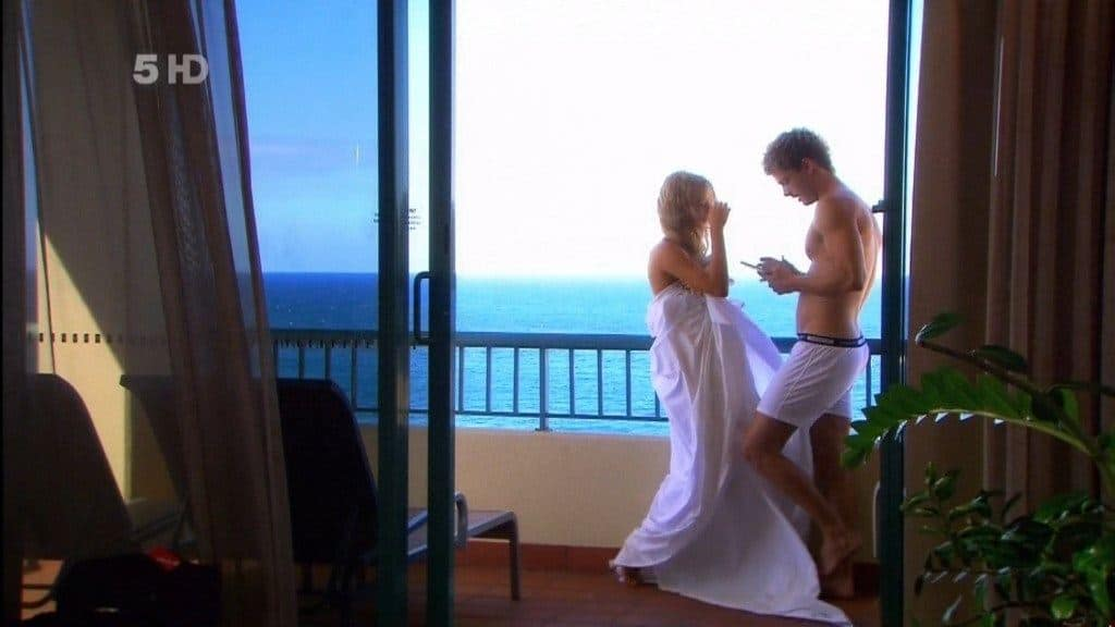 Luke Mitchell In Underwear In Home And Away