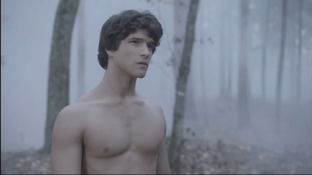Tyler Posey Shirtless In Teen Wolf image