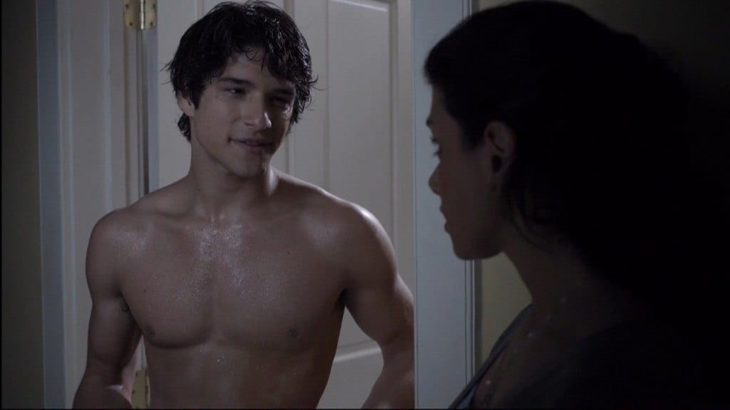 Tyler Posey Shirtless In Teen Wolf