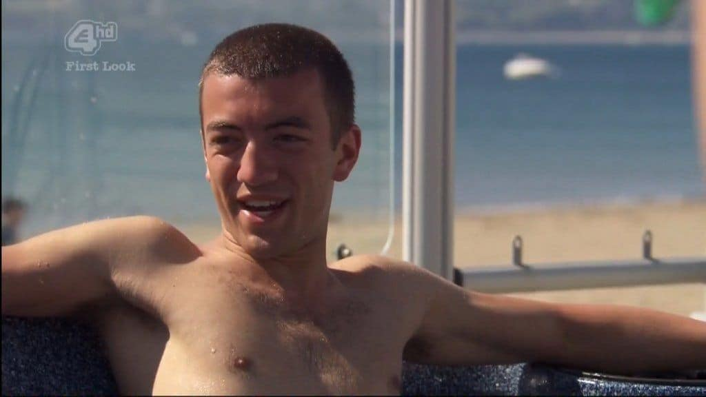Jonny Clarke Shirtless In Hollyoaks image