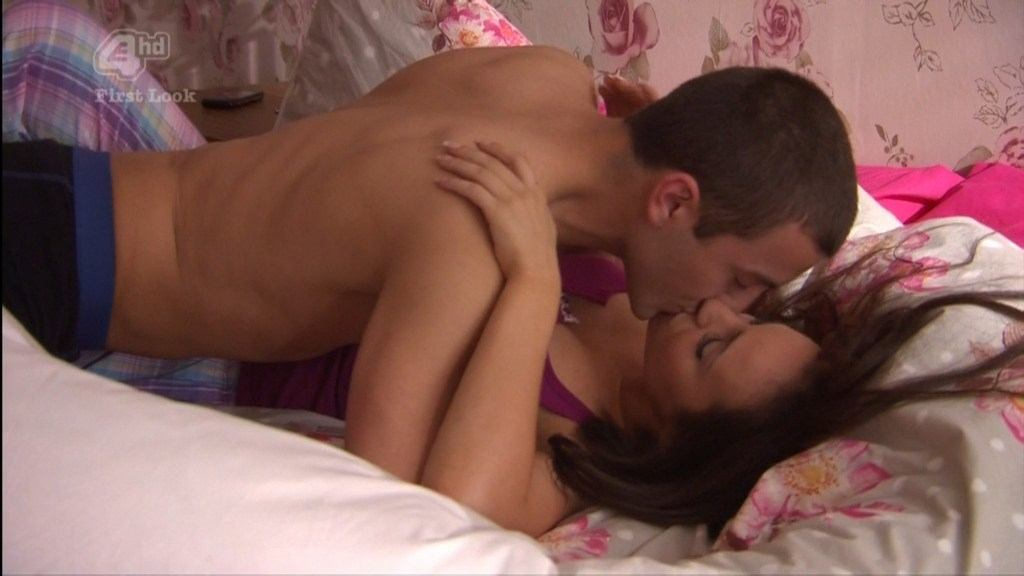 Jonny Clarke Shirtless In Hollyoaks Runaway image