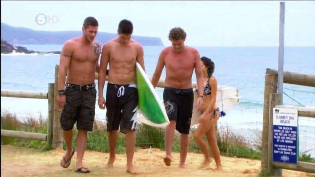 Lincoln Younes And Dan Ewing Shirtless