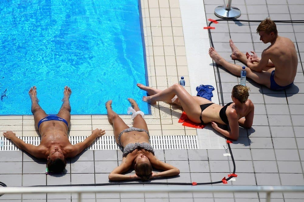Tom Daley Shirtless In Shanghai