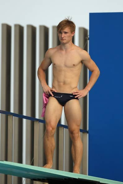 Jack Laugher Shirtless In Speedos