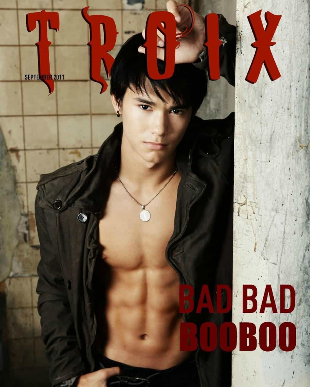 Boo Boo Stewart Shirtless In Troix Magazine image