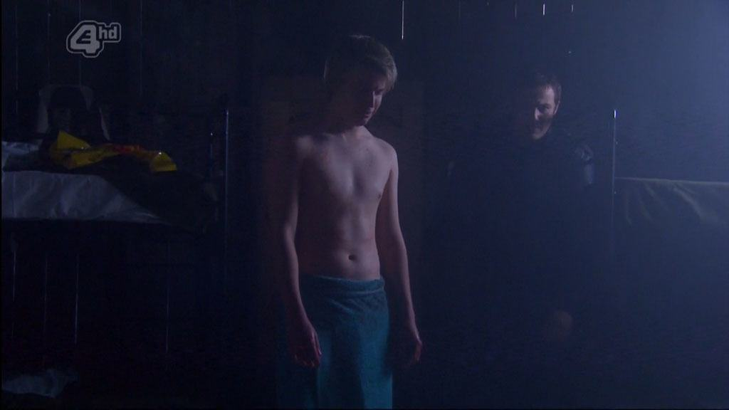 Miles Higson Shirtless In Hollyoaks