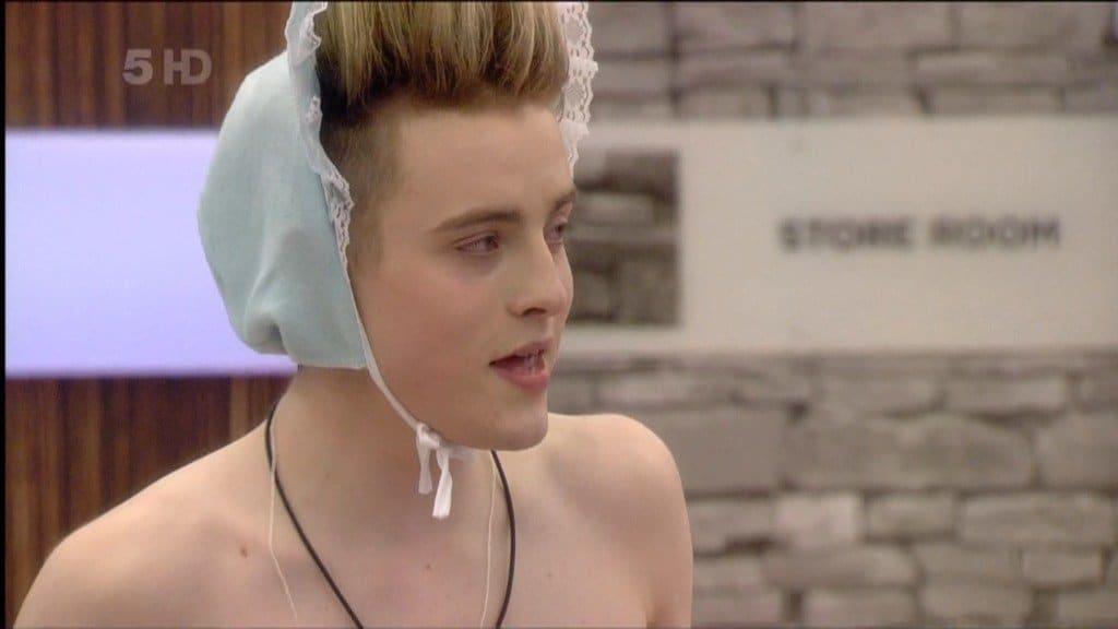 Jedward As Babies In Celeb Big Brother