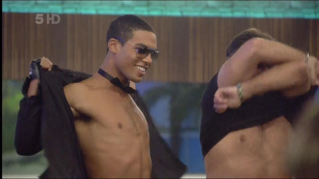 Lucien Laviscount Strip On Celeb Big Brother