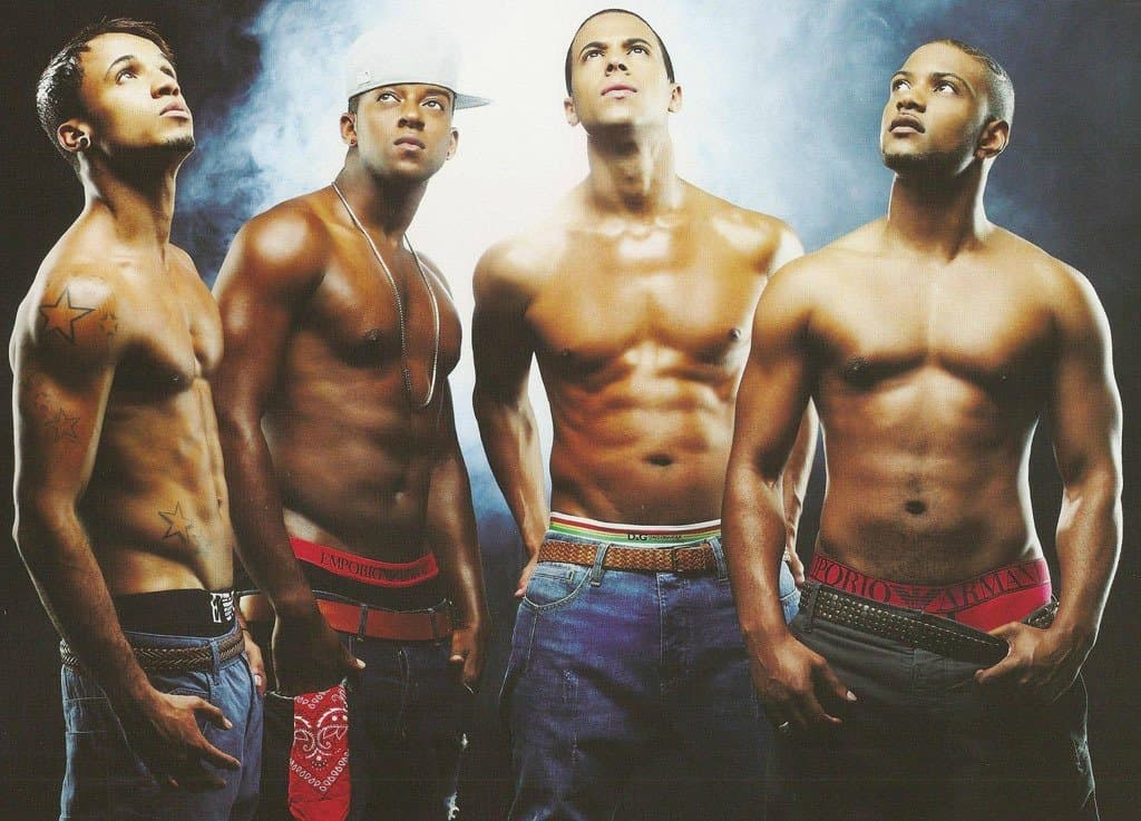 JLS Shirtless Calendar image