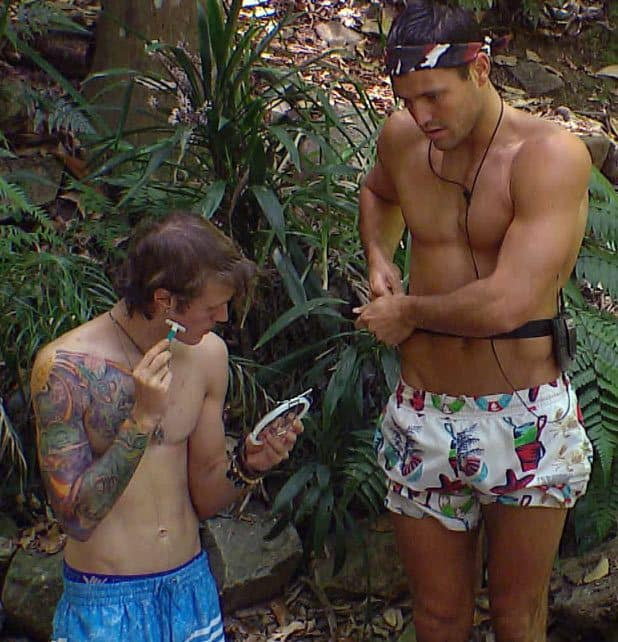 Dougie Poynter In Im A Celebrity Get Me Out Of Here image
