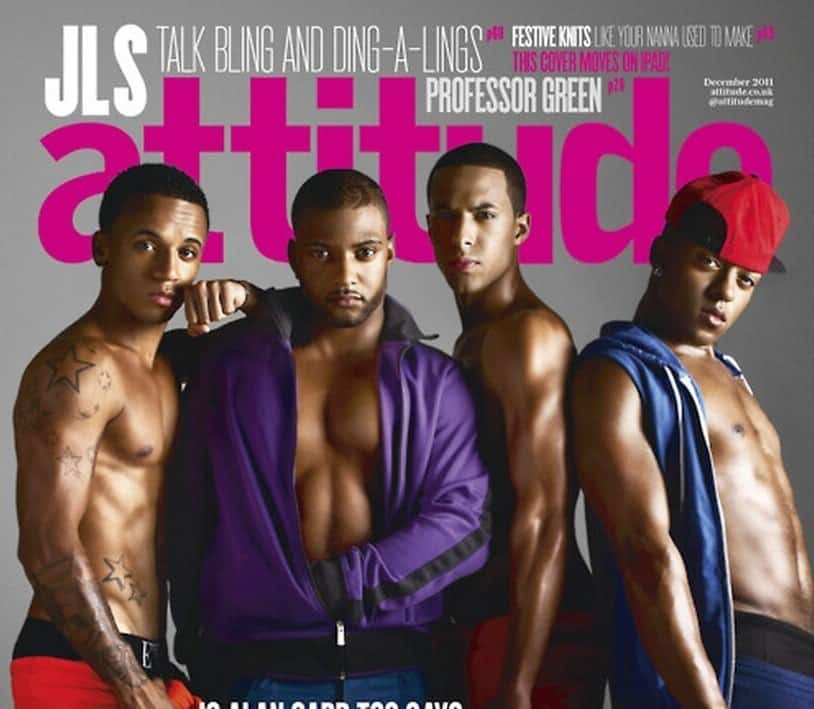JLS In Attitude Photoshoot image