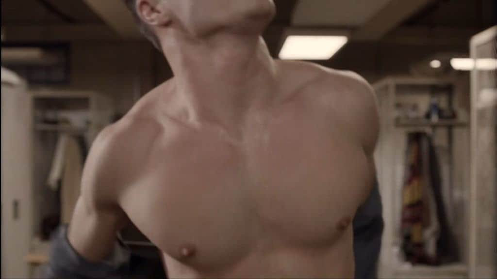 Colton Haynes Shirtless In Teenwolf image