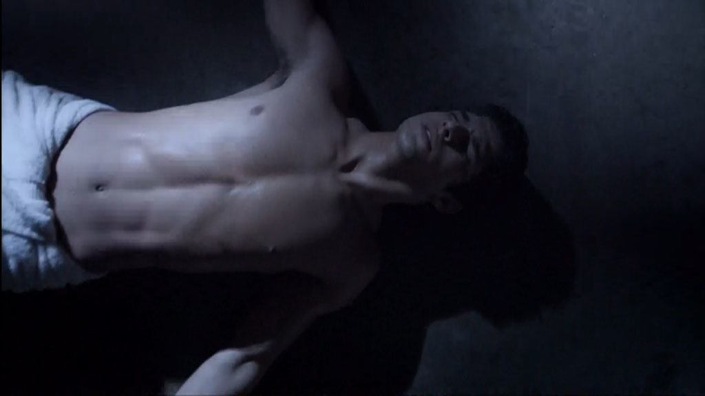 Tyler Posey Shirtless On Teenwolf image