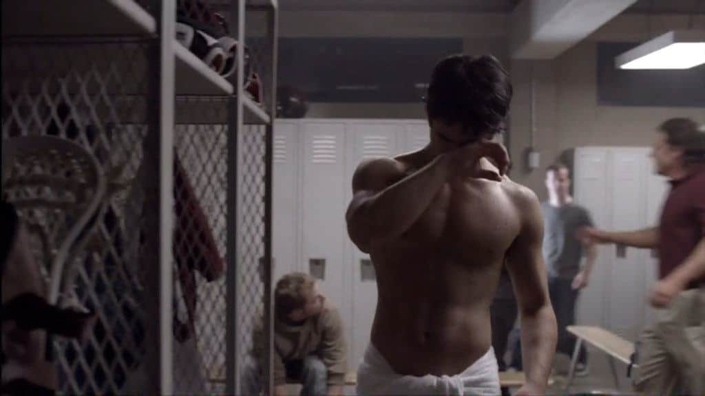 Tyler Posey Shirtless On Teenwolf