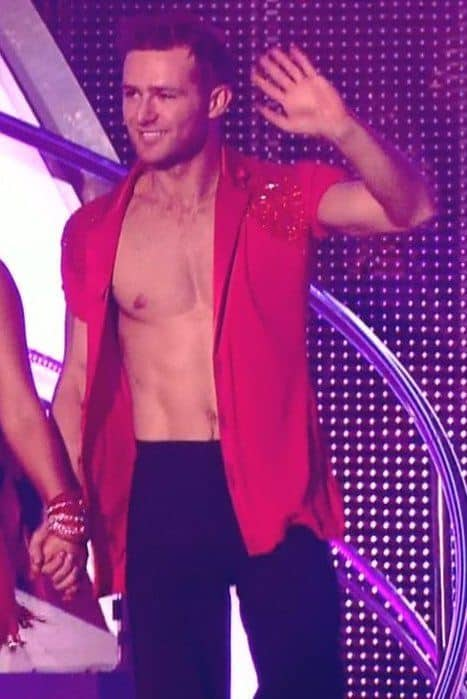 More Harry Judd Shirtless On Strictly Come Dancing image