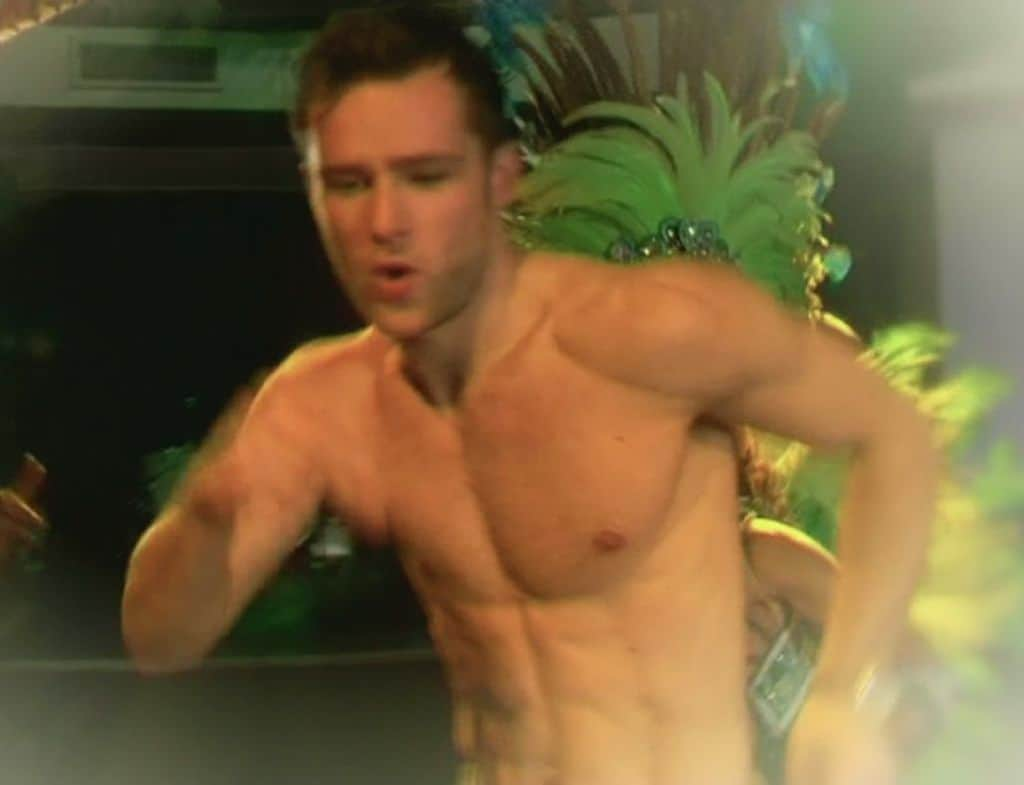 Harry Judd Stripping image