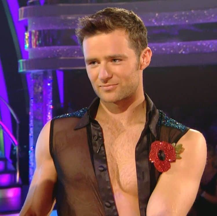Harry Judd Almost Shirtless On Strictly Come Dancing image