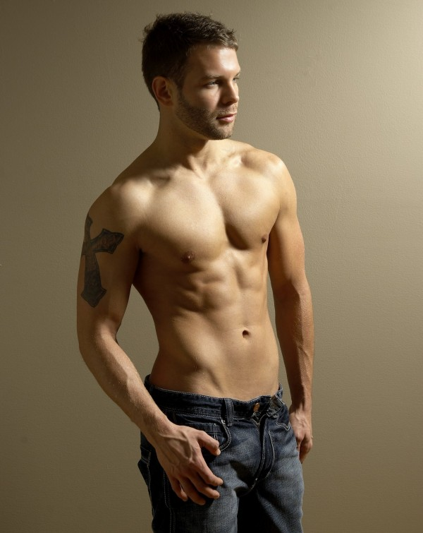 Shirtless Lads In Jeans image
