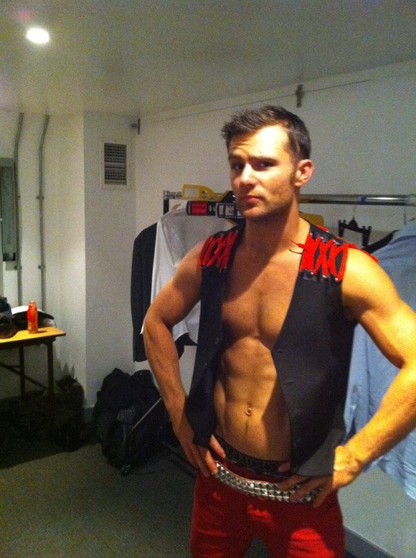 Harry Judd Shirtless image