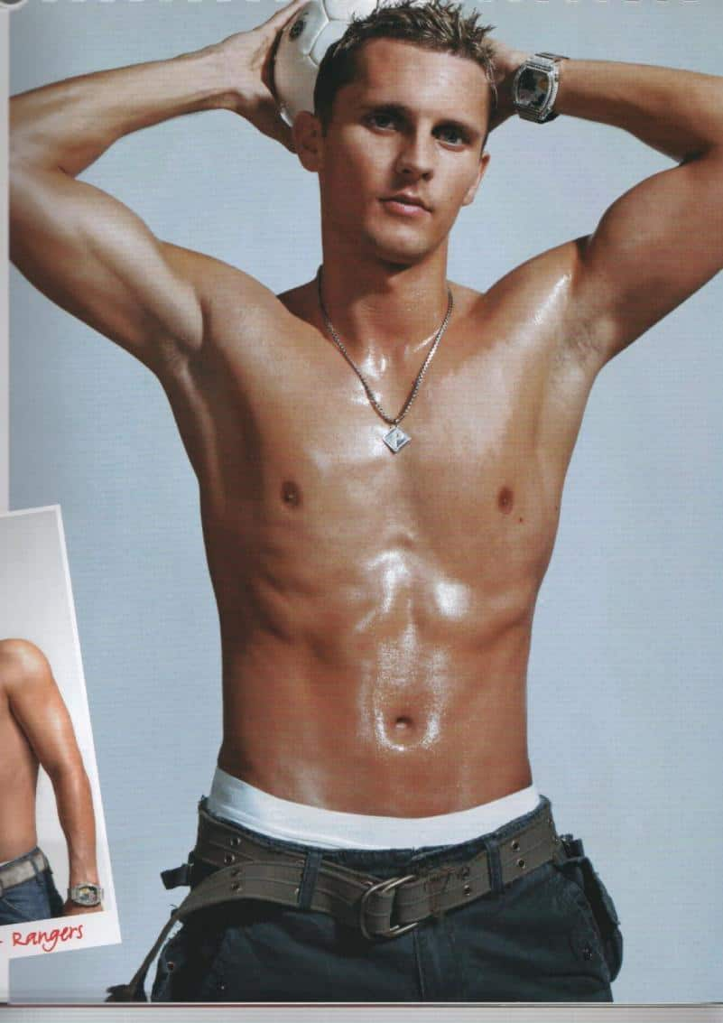 Peter Lovenkrands Shirtless image