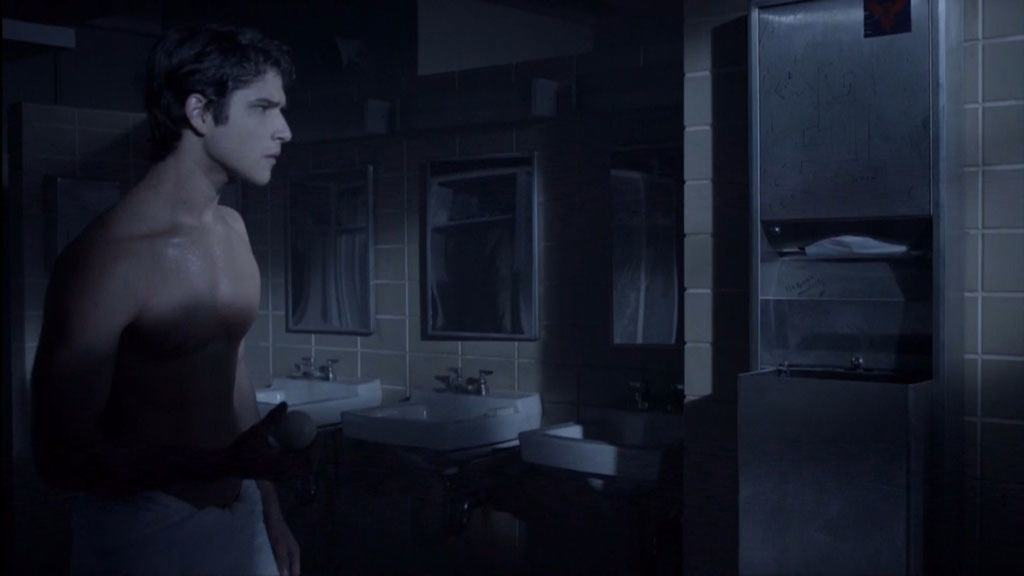 Tyler Posey In Just A Towel In Teenwolf image