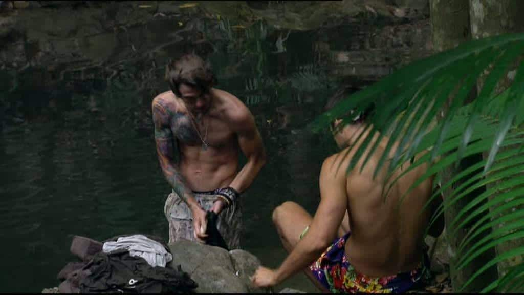 Dougie Shirtless In The Jungle image