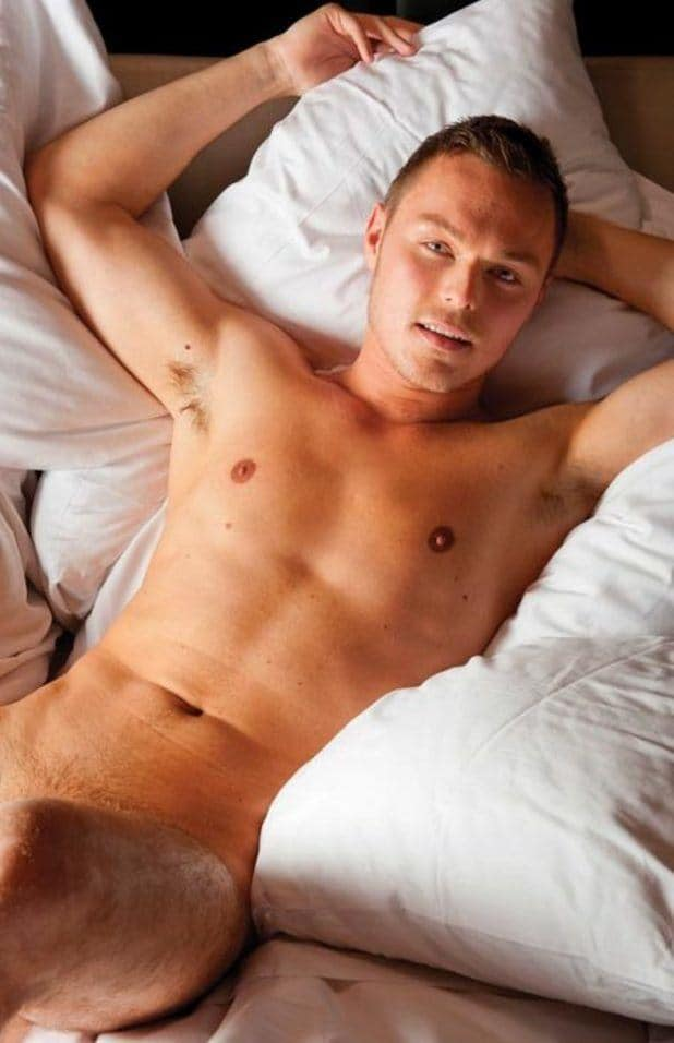 Andrew Hayden Smith Naked In Bed