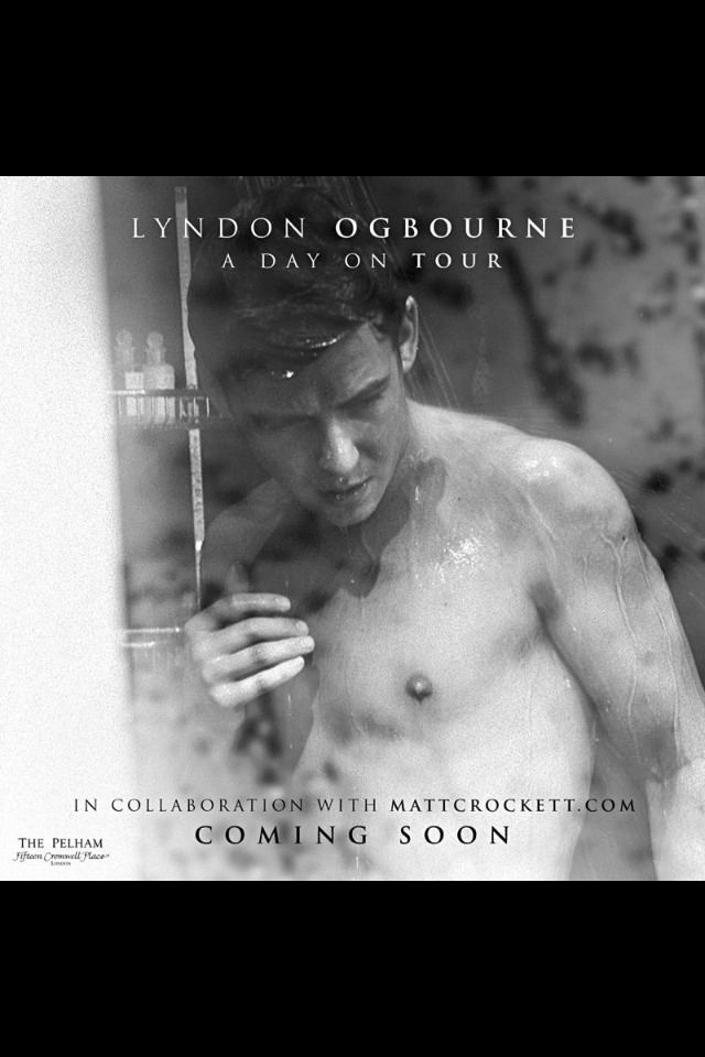 Lyndon Ogbourne Shirtless Photoshoot Teasers