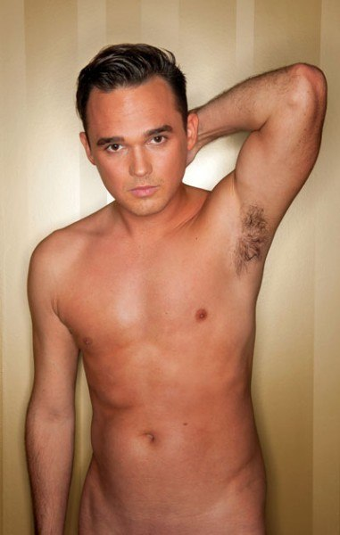 Gareth Gates Naked In Gay Times 2012 Naked Edition image