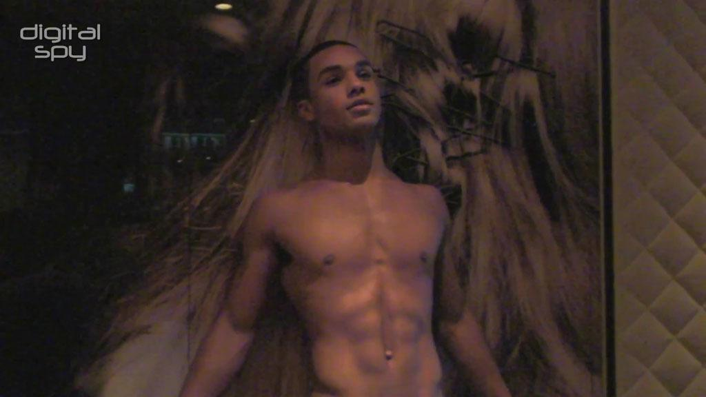Lucien Laviscount Naked Gay Times Photoshoot image