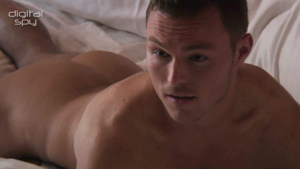 Andrew Hayden-Smith Naked Gay Time Photoshoot
