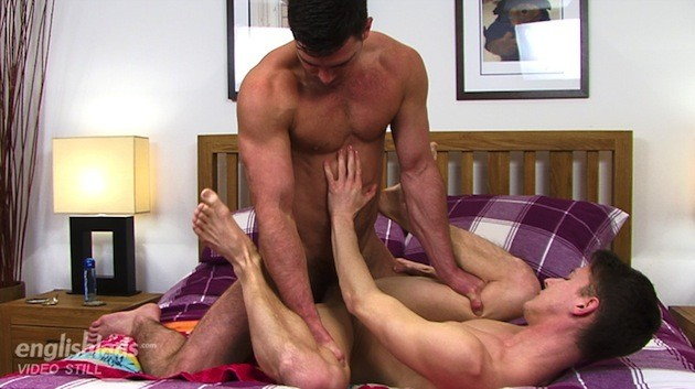 Paddy O'Brian Stuffs His Thick Dick Into Darius Fernand At English Lads (9)