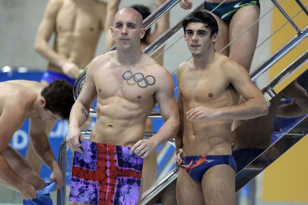 New Chris Mears In Speedos