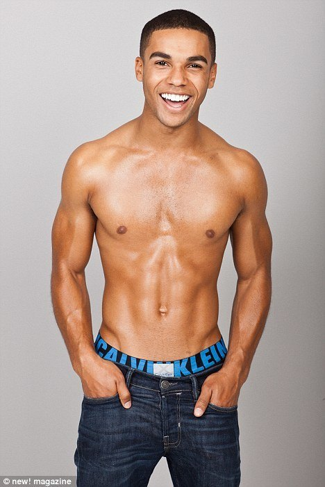 Lucien Laviscount Shirtless In Mag Photoshoot image