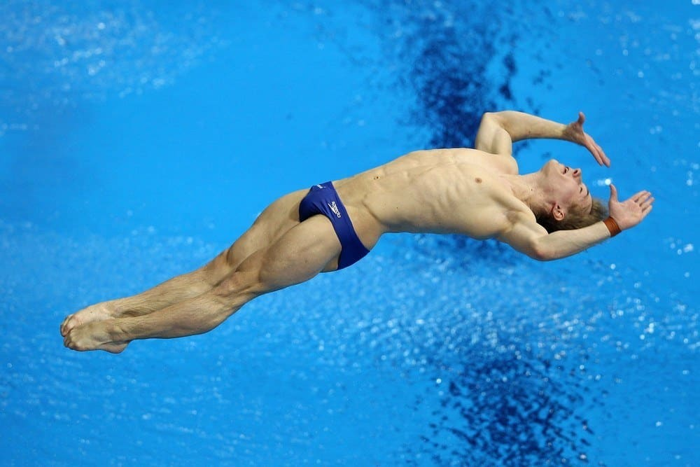 New Jack Laugher In Speedos image