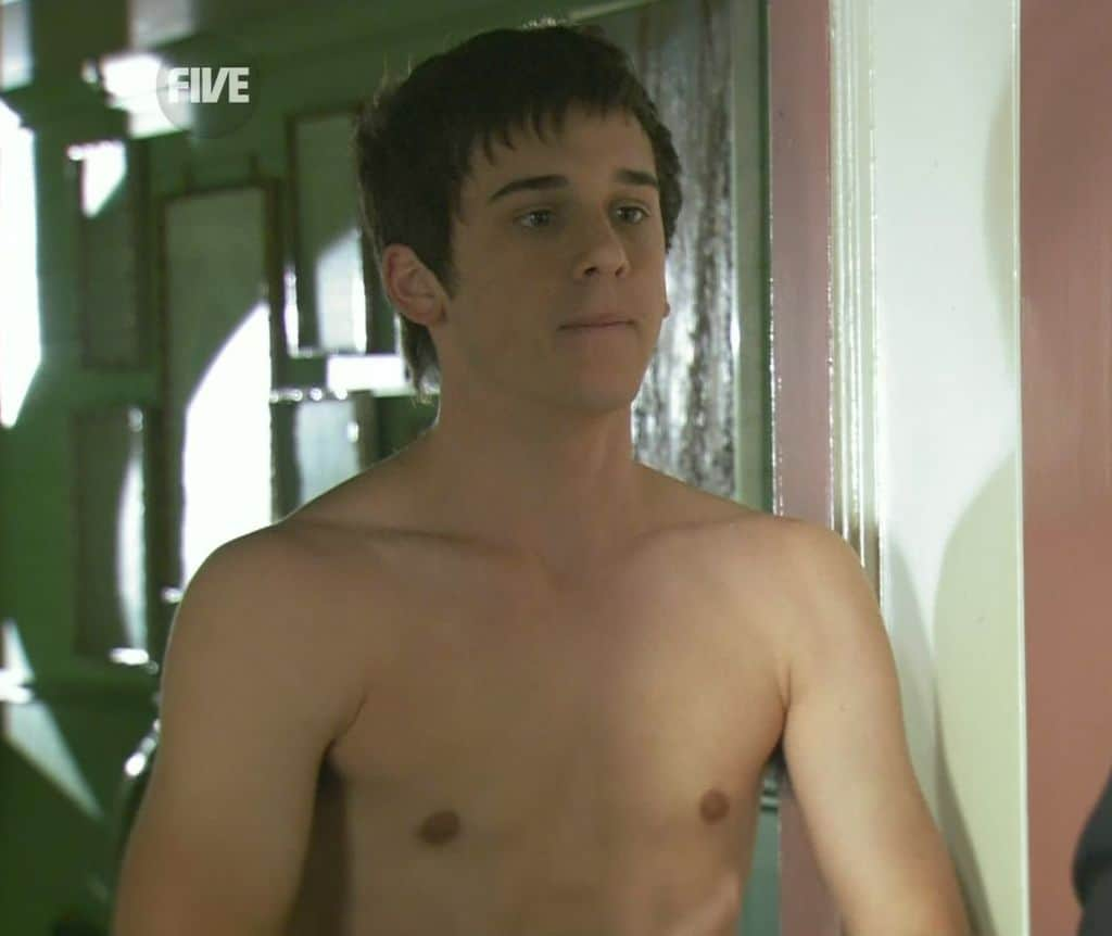 Charles Cottier Strips To His Underwear On Home and Away