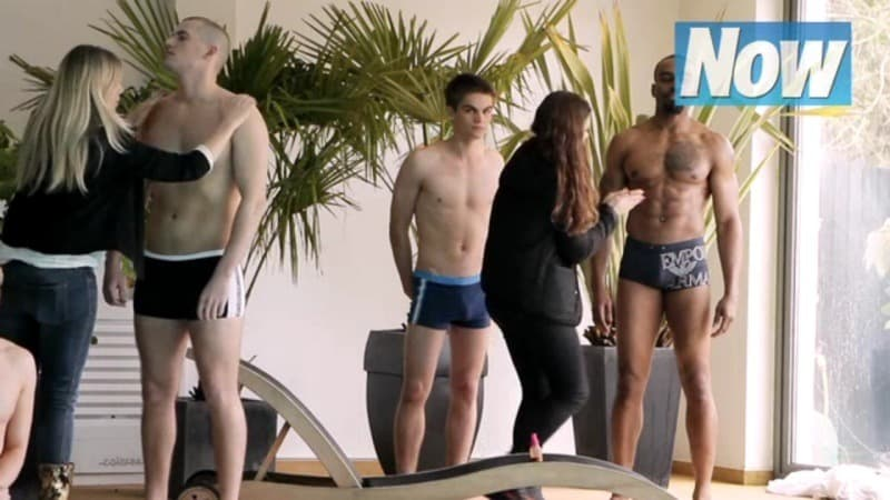 Sam Jackson In Now Magazine Photoshoot In Just His Underwear