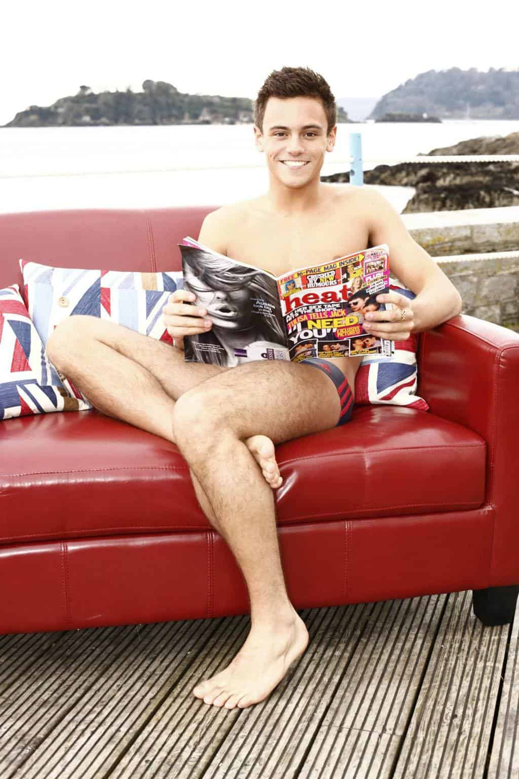 Tom Daley In Another Promo Shot image