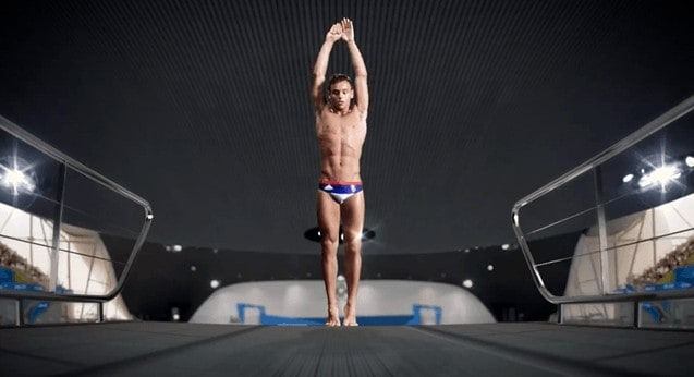 Tom Daley Shirtless In The Adidas Advert