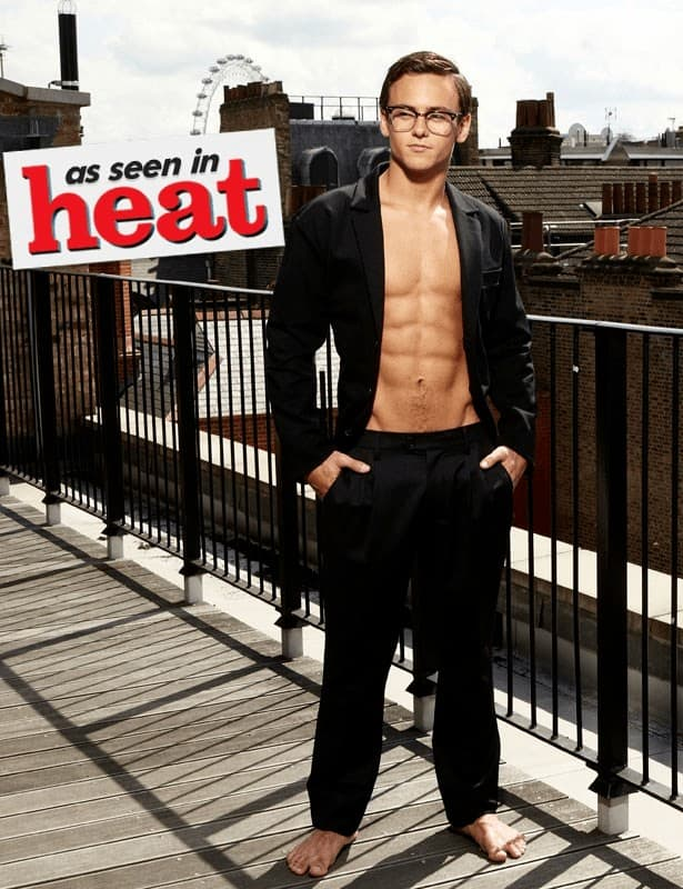 Tom Daley Shirtless In Heat