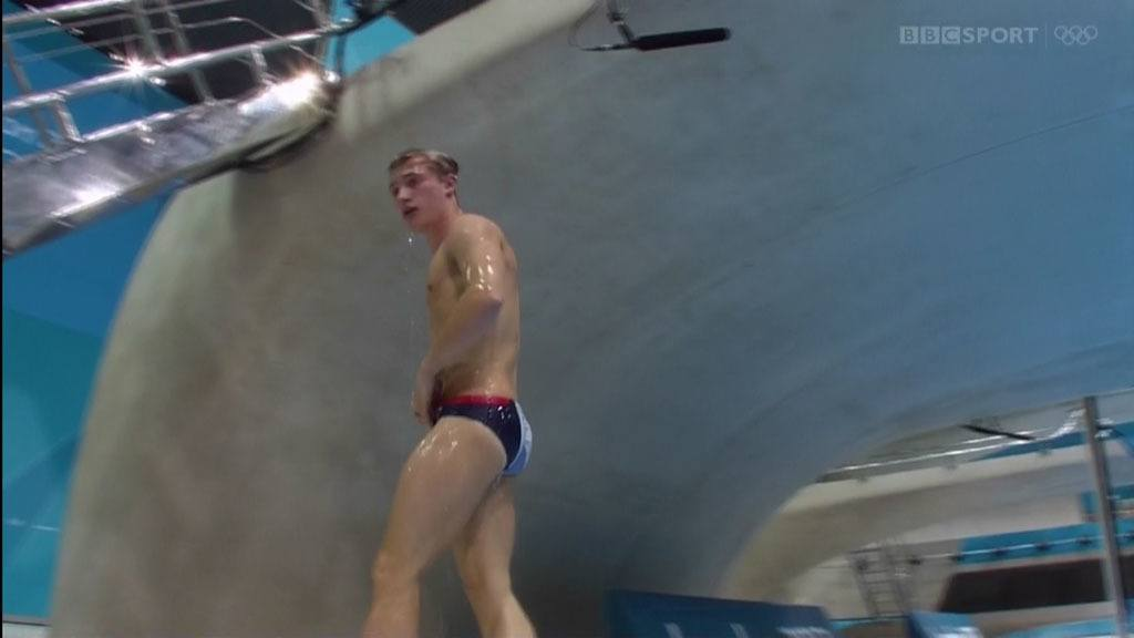 Jack Laugher Diving In 3m Springboard