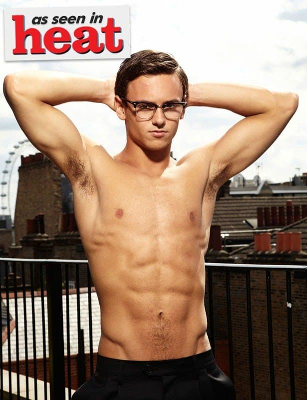 Tom Daley Shirtless In Heat image