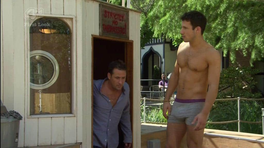 Danny Mac In His Underwear Bulging image