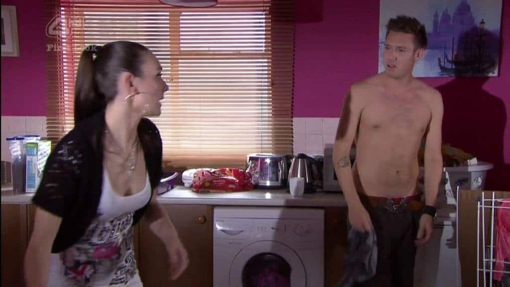 Andrew Moss Shirtless In Hollyoaks