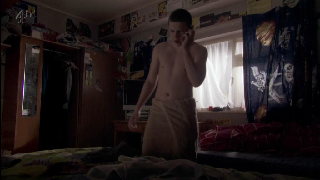Robbie Conway Shirtless In Shameless image